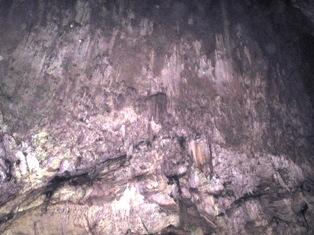 سقف غار سهولان